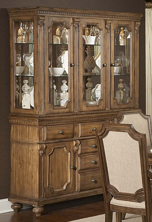Eastover Buffet and Hutch - Homelegance