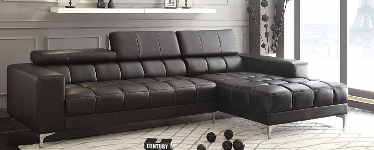Quillen Sectional - Black