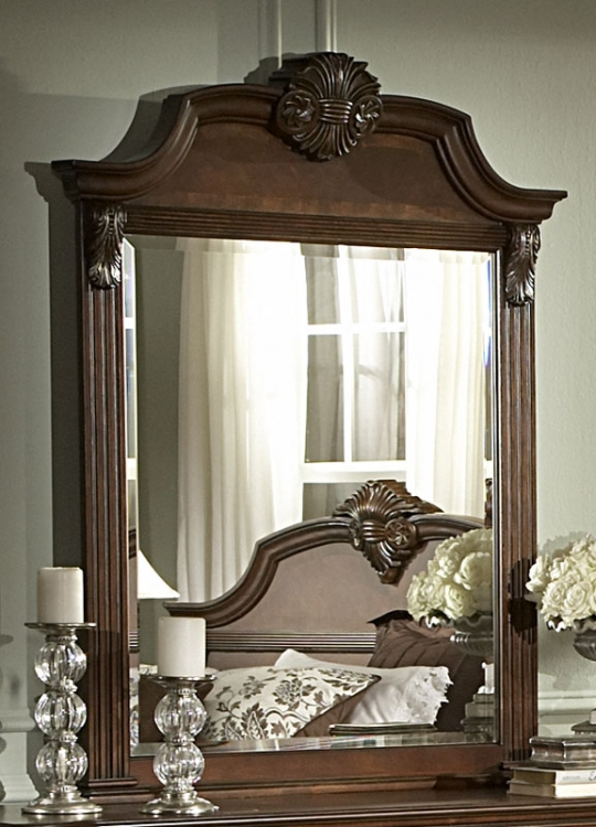 Legacy Mirror - Brown Cherry
