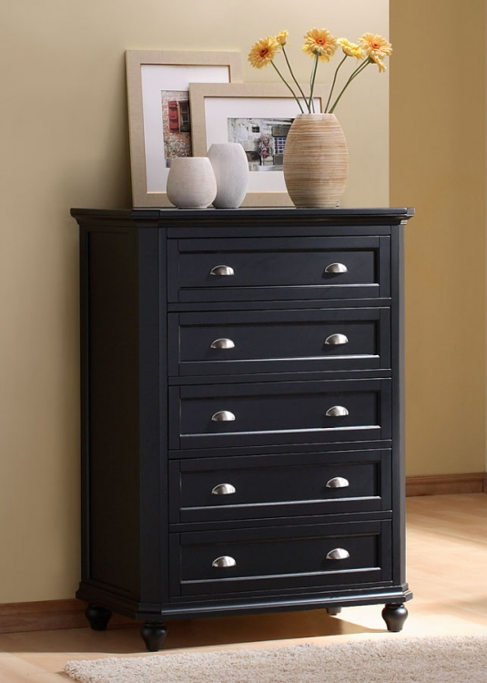 Hanna Chest in Black-Homelegance