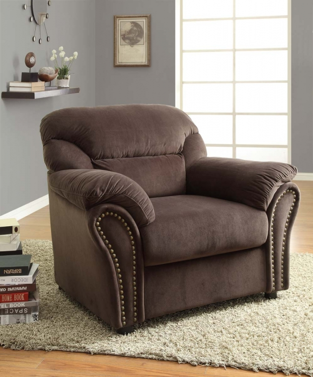 Valentina Chair - Chocolate - Homelegance