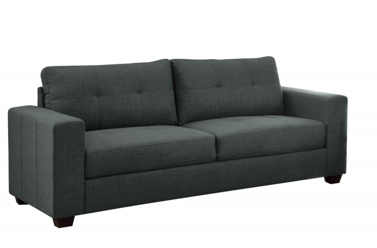 Ashmont Sofa - Polyester - Dark Grey