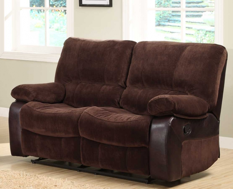 Caputo Double Reclining Love Seat