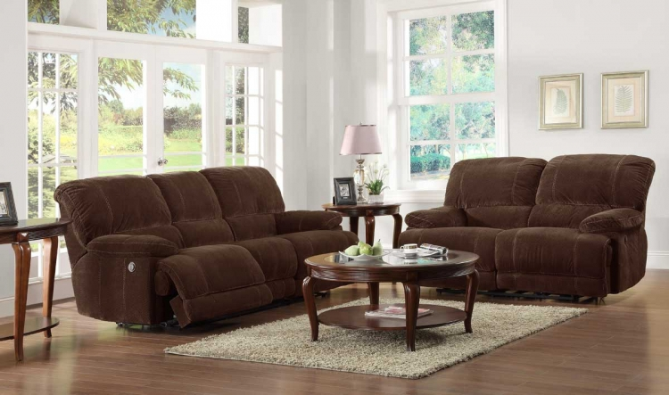 Sullivan Power Reclining Sofa Set - Homelegance