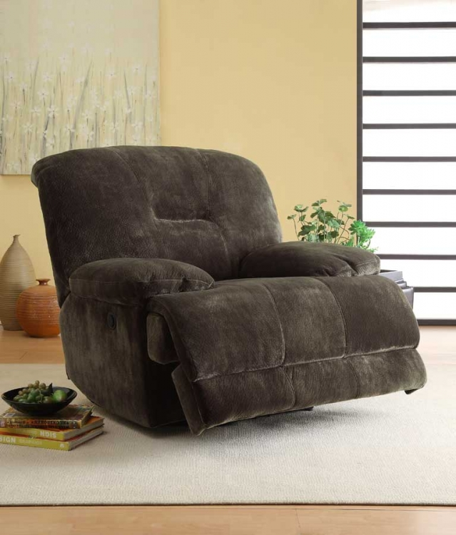 Geoffrey Power Reclining Chair - Homelegance