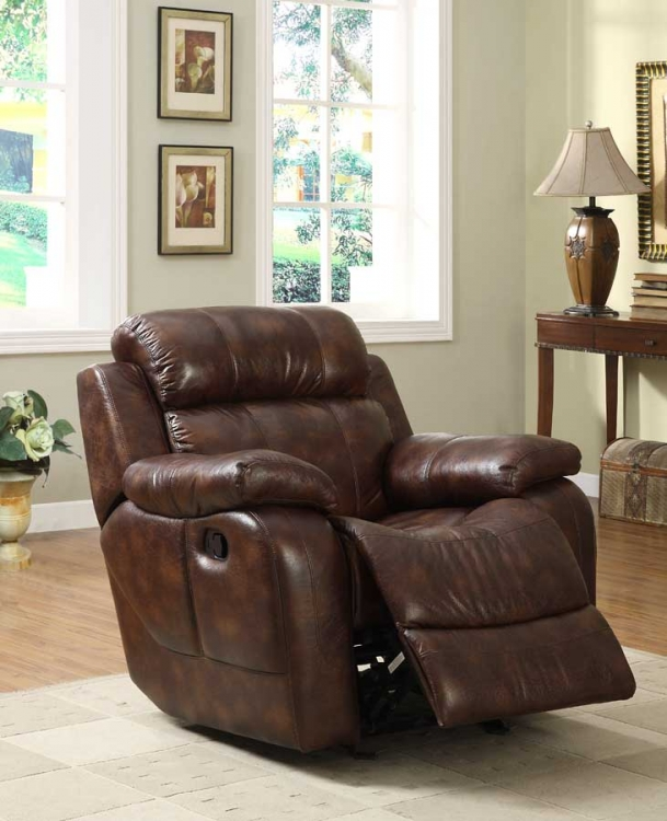 Marille Rocking Reclining Chair - Polished Microfiber - Homelegance