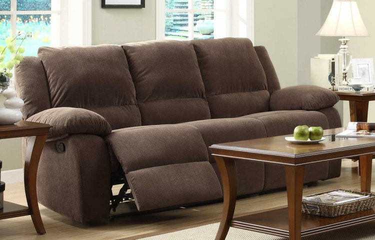 Lucienne Double Reclining Sofa - Homelegance