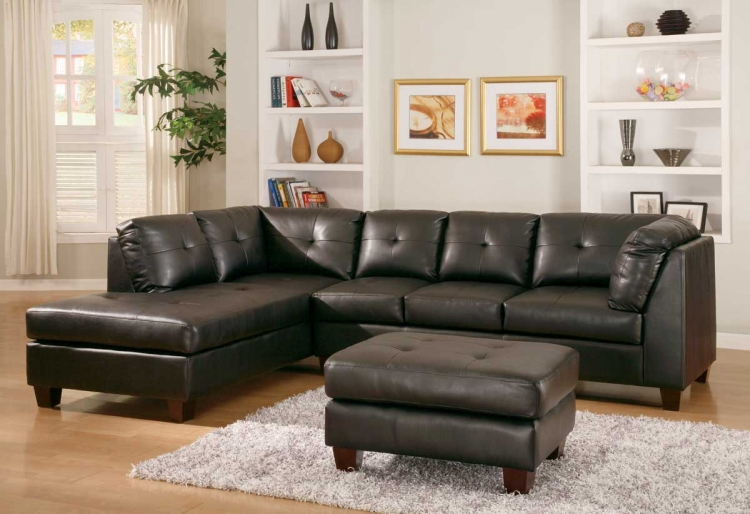 Morgan Sectional Black-Homelegance
