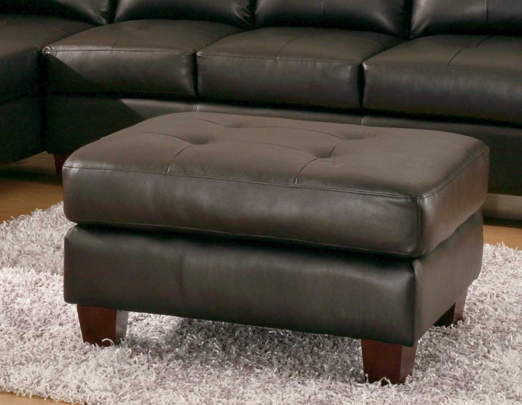 Morgan Ottoman Black-Homelegance