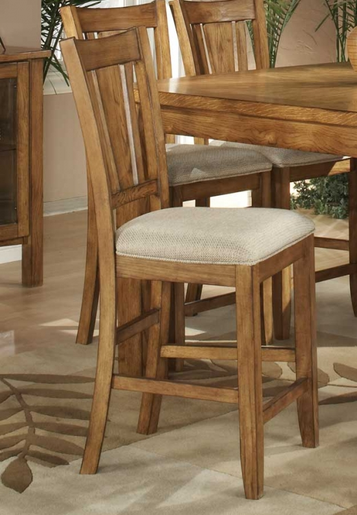 Fusion Counter Height Chair-Light Oak