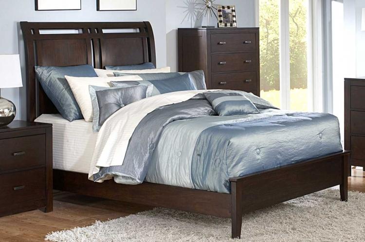 Topline Panel Bed