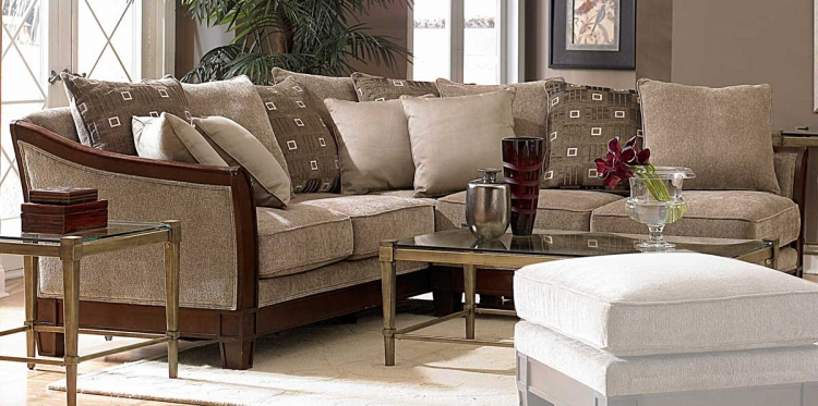 Trenton Sectional - Homelegance