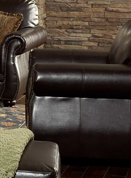 Wrangler III Chair in Leatherette - Homelegance