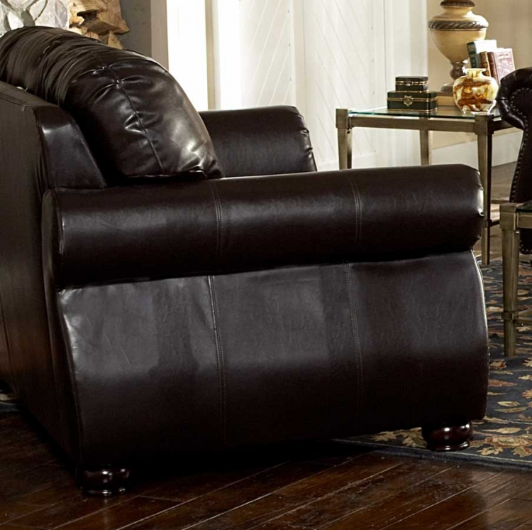 Wrangler III Love Seat in Leatherette - Homelegance
