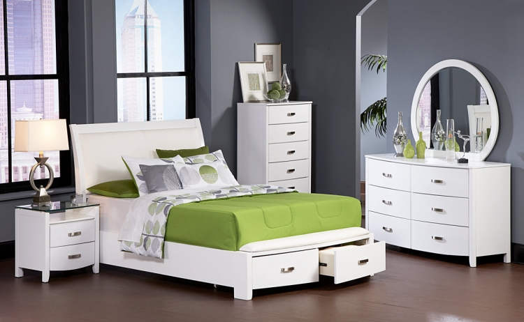 Lyric Platform Bedroom Set - Homelegance