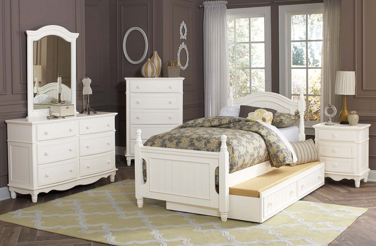 Clementine Bedroom Set - White
