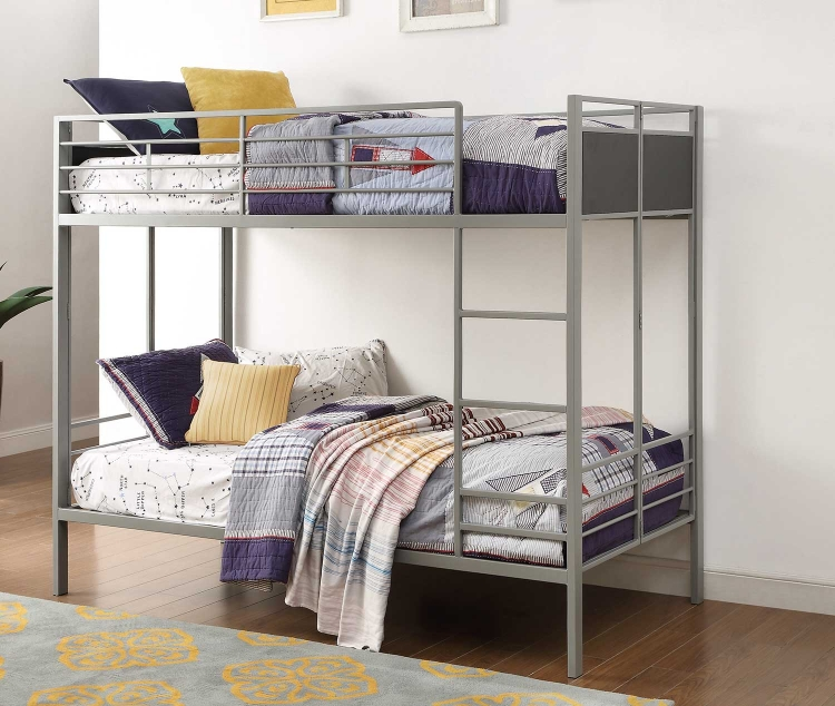 Dex Twin/Twin Bunk Bed - Grey