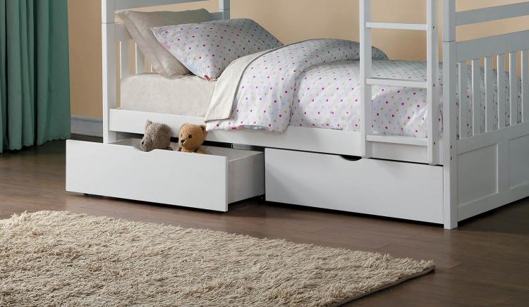 Homelegance Galen Storage Boxes - White