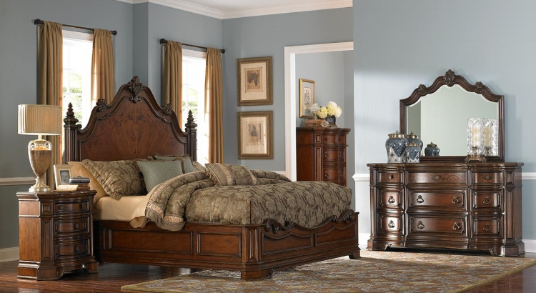 Montvail Bedroom Set - Homelegance