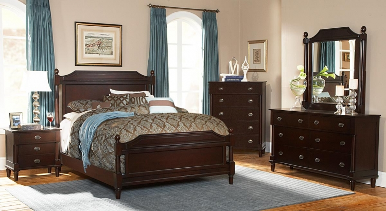 Houghton Bedroom Set - Homelegance