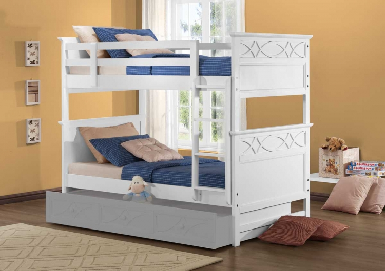 Sanibel Bunk Bed - White