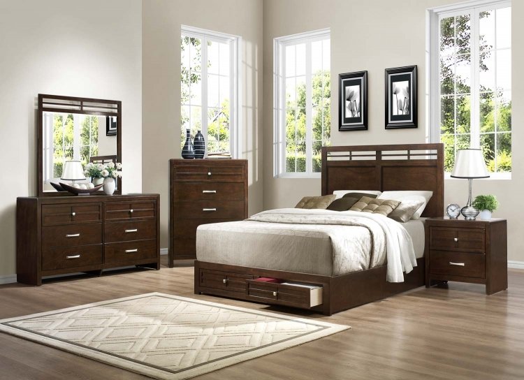 Greenfield� Bedroom Set - Espresso - Homelegance