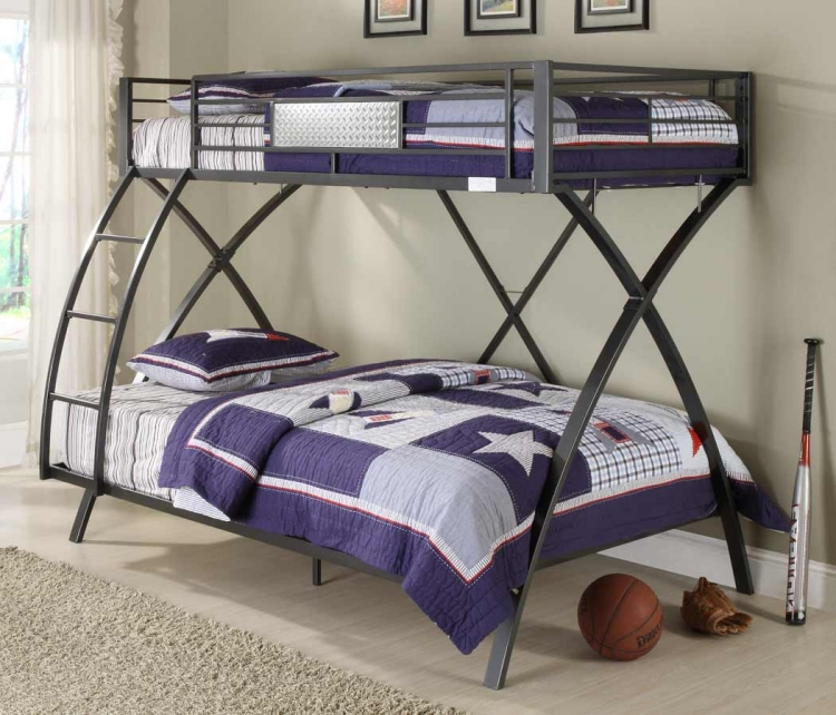 Spaced Out Twin-Full Bunk Bed