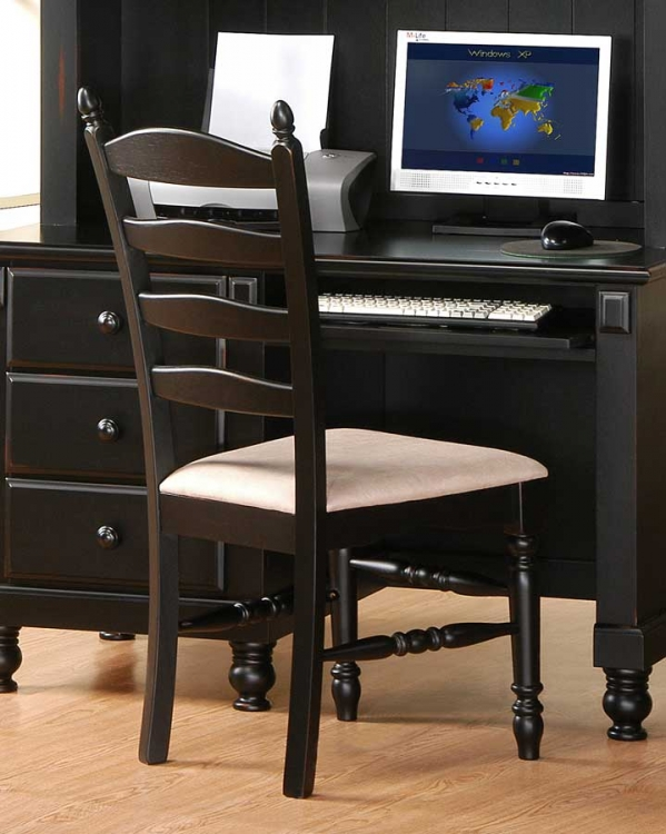 Pottery Chair-Black-Homelegance