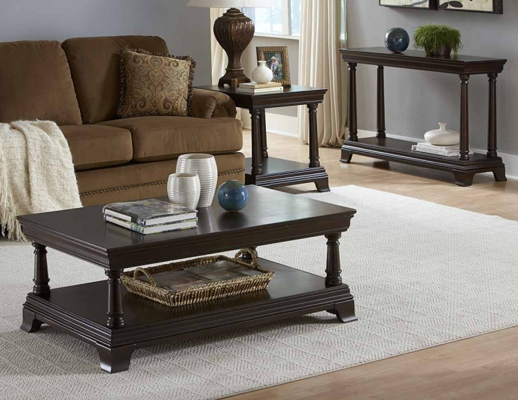Inglewood Occasionals Coffee Table Set - Homelegance