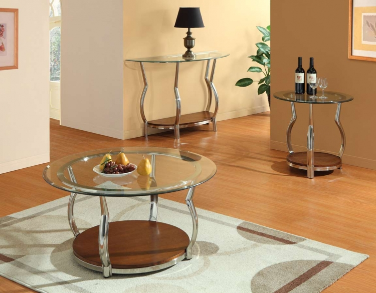 Wells Occasionals Coffee Table Set - Homelegance