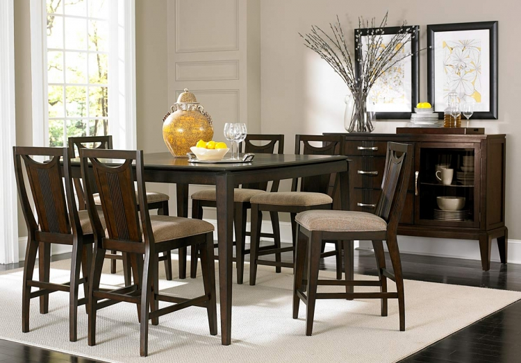 Daytona Counter Height Dining Set - Homelegance