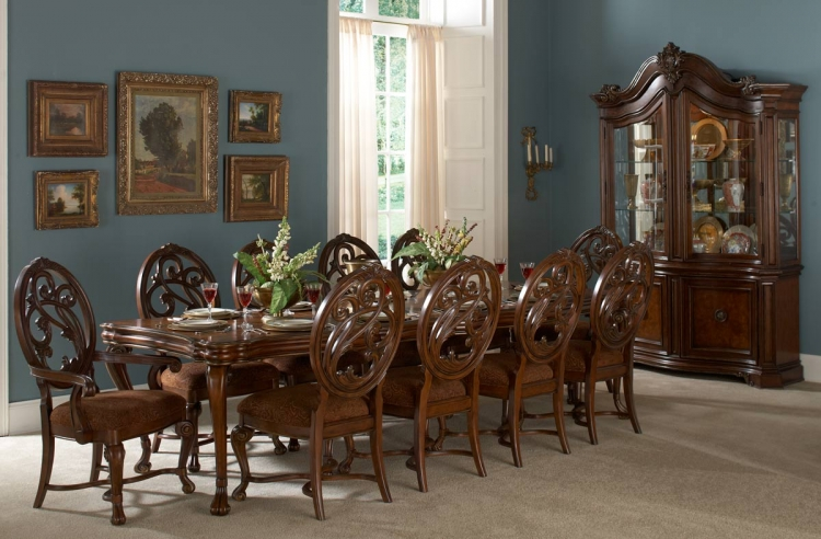 Montvail Dining Set - Homelegance