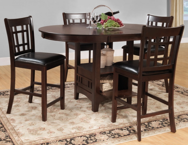 Junipero Counter Height Dining Set - Homelegance