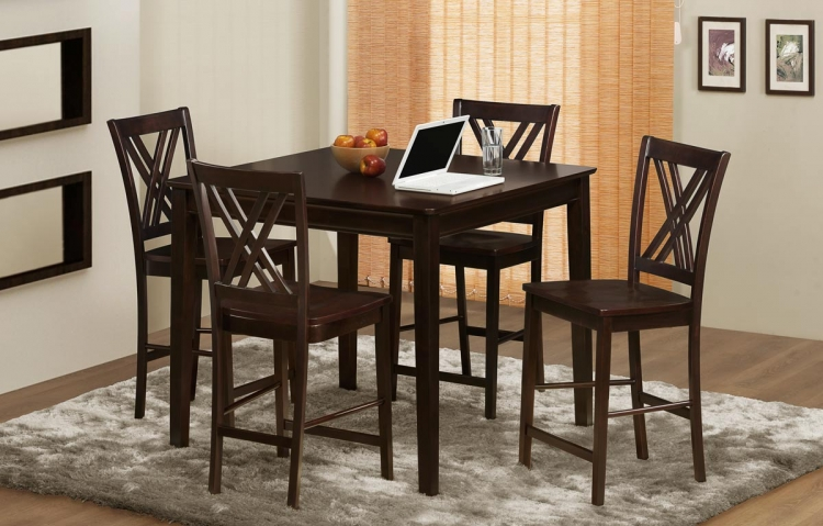 Hodges Counter Height Dining Set - Homelegance