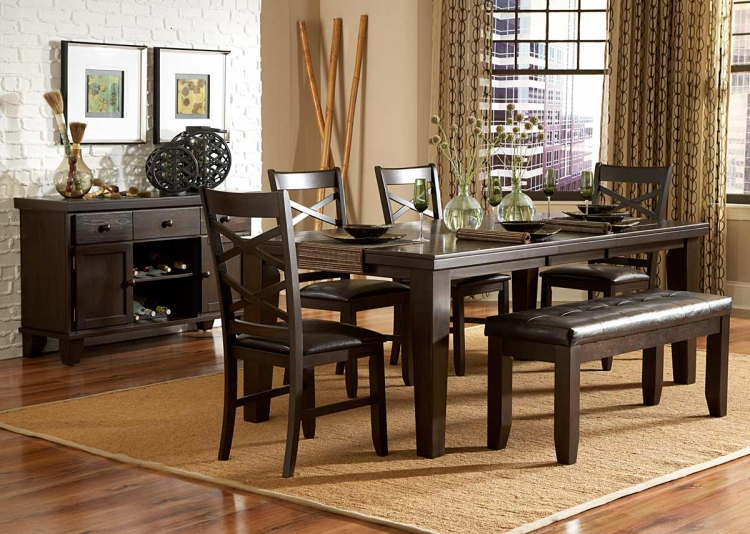 Hawn Dining Set - Homelegance