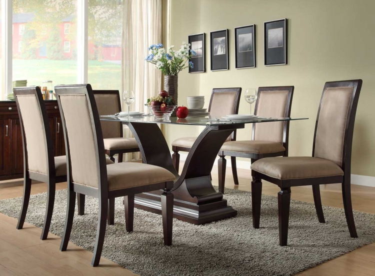 Plano Dining Set - Homelegance