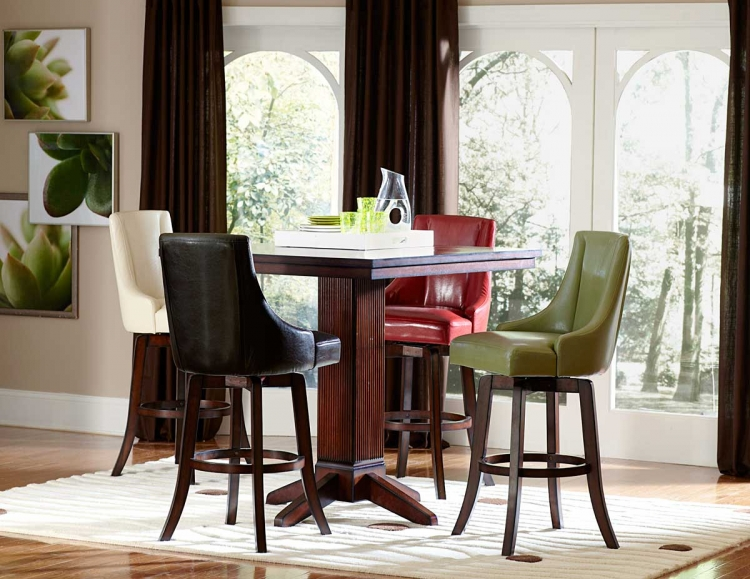 Annabelle Pub Height Dining Set - Homelegance