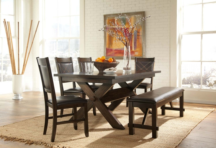 Roy Dining Set - Espresso - Homelegance