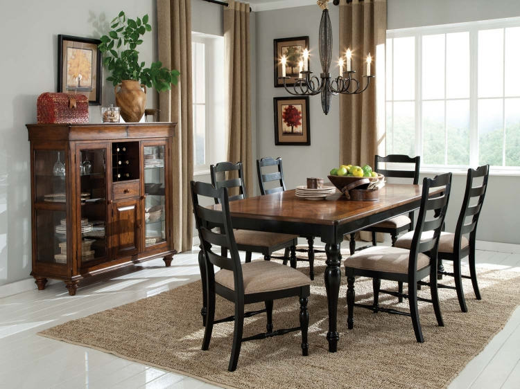 McKean Dining Set - Oak