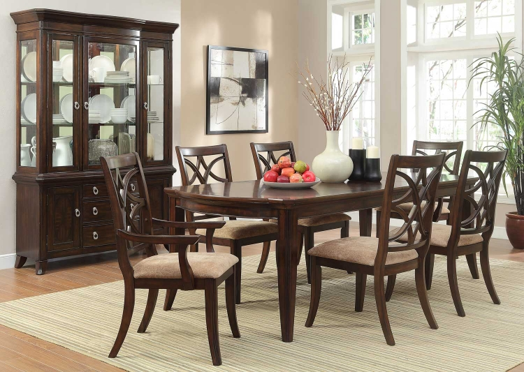 Keegan Dining Set - Cherry