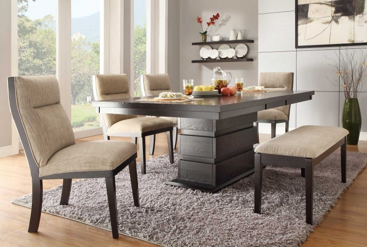 Tanager Dining Set - Dark Espresso