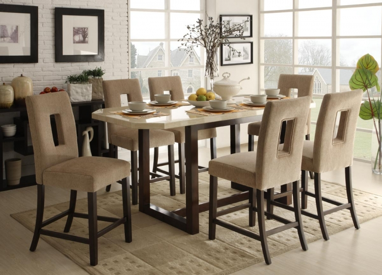 Reiss Counter Height Dining Set - Homelegance