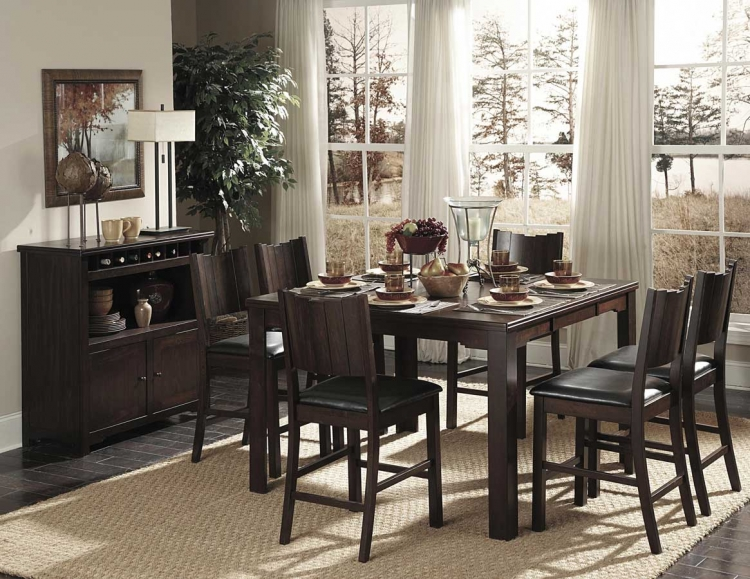 Neely Counter Height Dining Set - Homelegance
