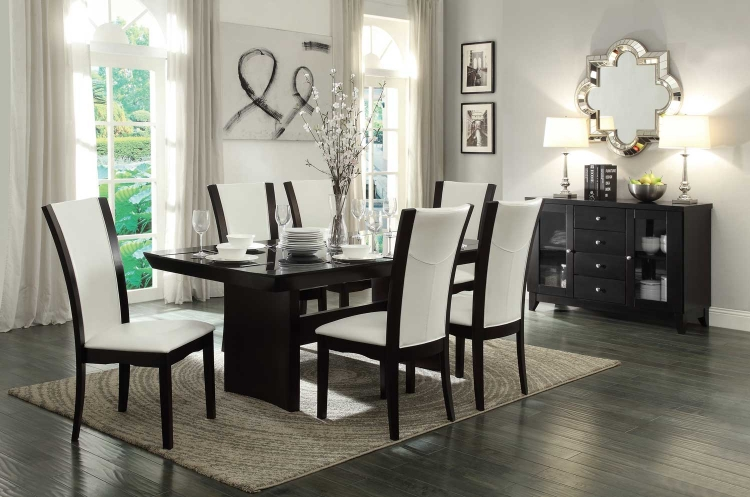 Daisy Dining Table with Glass Insert Collection