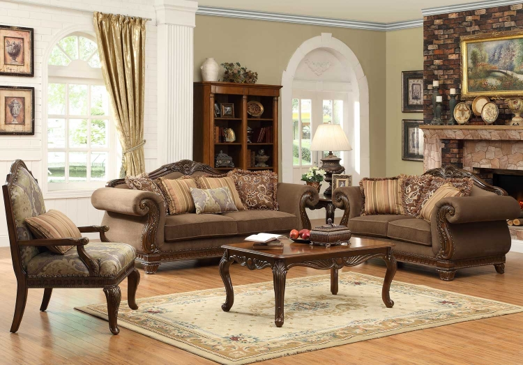 Traditional Modern Living Room Furniture