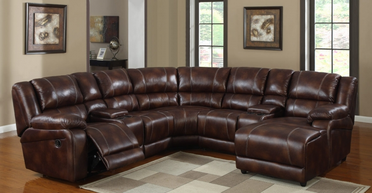 Viewers Sectional Sofa Set - Homelegance