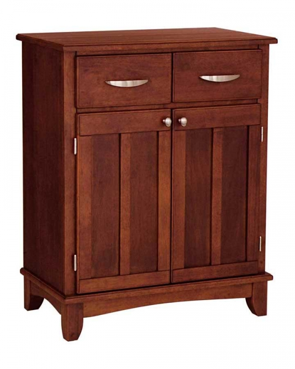 Cherry Wood Top Buffet - Home Styles
