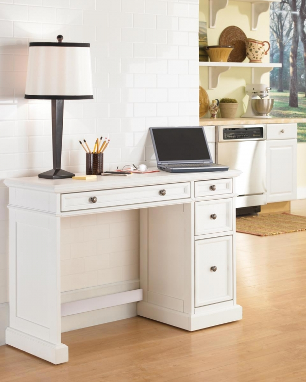 Traditions Utility Desk - White - Home Styles