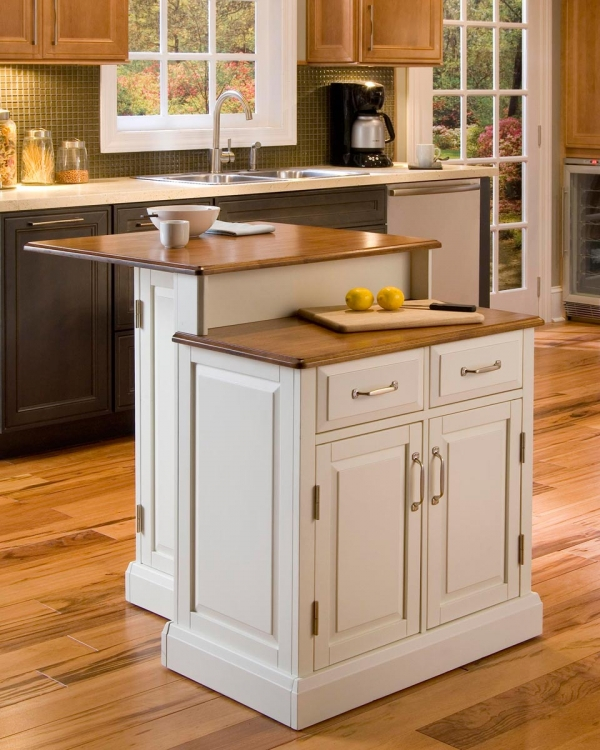 Woodbridge Two Tier Island - White