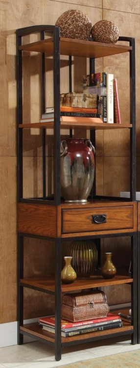 Modern Craftsman Gaming Tower - Distressed Oak - Home Styles